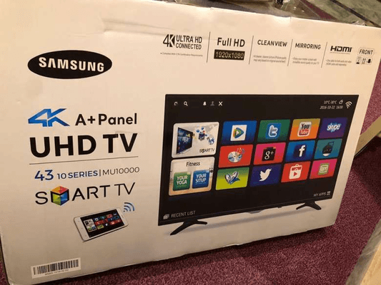 samsung Wifi smart 43 inch LED and all home furniture