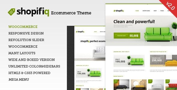 Shopifiq v2.4.5 - Responsive WordPress WooCommerce Theme