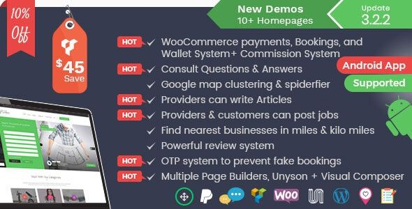 Listingo v3.2.2 - Service Business Finder and Directory
