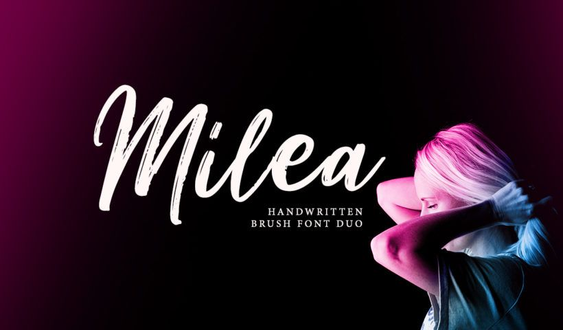 Milea – Handwritten Brush Font Free Download