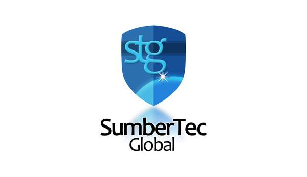 sumber tec global logo design