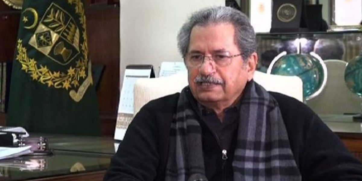 Shafqat Mehmood is not happy with his popularity on social media