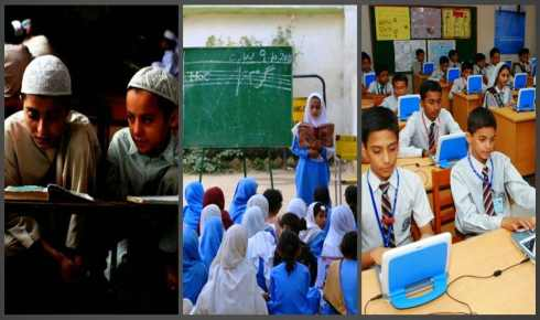 education systems in pakistan